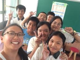 Six B class at Fong Li!