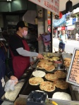 The most amazing scallion pancakes you will ever eat (Dongmen)
