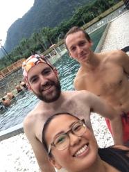 Pre-hot springs selfie