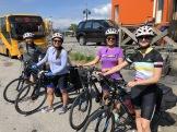 Our 185km bike ride!