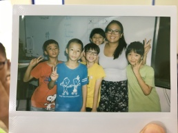 Me and some of my Fong Yuan third graders!