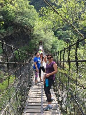 Suspension bridge @Taroko