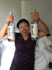 Mom and her Kaoliang purchases xD